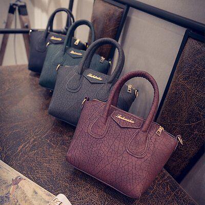 Fashion Women Leather Handbag Shoulder Bag Messenger Hobo Bag Satchel Purse Tote