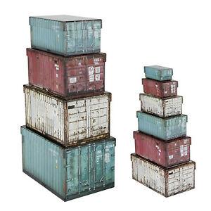 10-Boxen-Aufbewahrungsboxen-Sortierbox-Aufbewahrungskisten-Industrie-Container