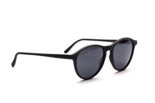 Klassisch zeitlose panto Sonnenbrille in matt Schwarz von GRANT       G9