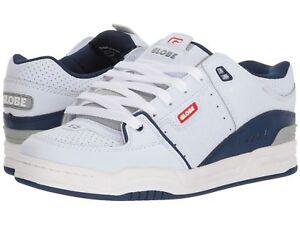 quality design 71373 74456 Details about Skate Shoes Globe Shoes FUSION White Blue Blue Man Woman  Schuhe