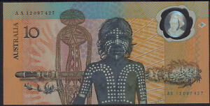 1988-Australia-10-AA12-banknote-polymer-commemorative-folder-consecutive-pairs