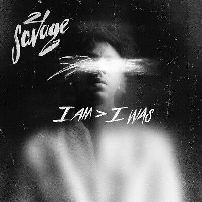 E830 21 Savage I am I was 2020 Album Fabric Poster 32x32 27x27