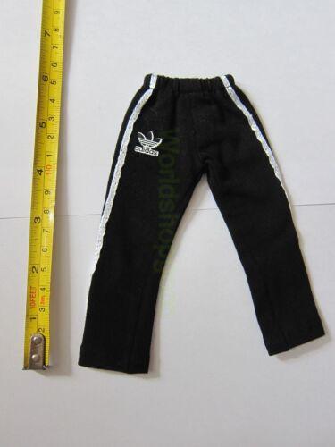 """1//6 Scale Black Sport Sweatpants Pants For 12/"""" Action Figure Dolls Toys"""