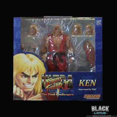 In STOCK Storm Collectibles Street Fighter II Ultra Ken 1:12 Action Figure