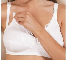 Royce Jasmine White Drop Cup Nursing / Maternity Bra Size 36L BNWT RRP £26