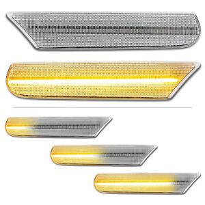 WEISSE-dynamische-LED-Seitenblinker-Porsche-911-996-Boxster-986-Carrera-Cabrio