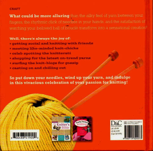 Knitting Inspiration Information Book Funky Fun with Stories Shopping Advice
