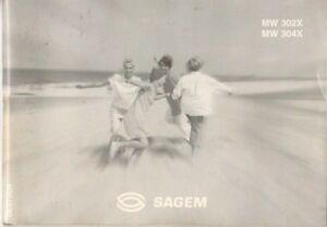 SAGEM - MW 302X MW 304X - Bedienungsanleitung - B8128