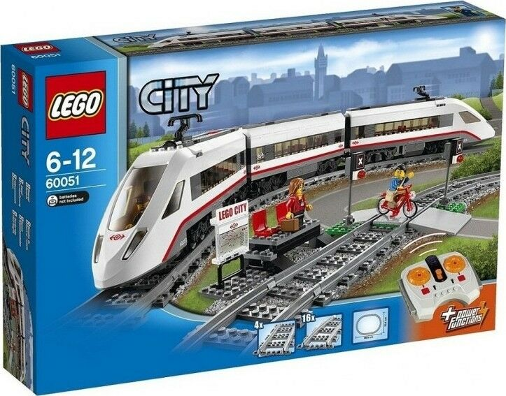 LEGO City (60051) High Speed Passenger Train (Brand New & Factory Sealed)