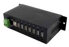 Metal Case USB 2.0 Hub with 7 Ports Exsys Ex-1178s Overvoltage Protector