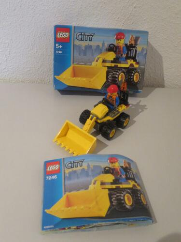 LEGO CITY POLIZEI RADLADER FEUERWEHR MIT OVP /& BA 100/% KOMPLETT ZUR AUSWAHL I8