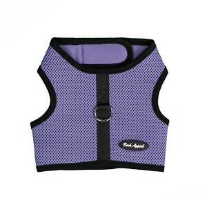 Bark-Appeal-EZ-Wrap-n-Go-Mesh-Dog-Step-In-Harness-Lavender-Sizes-XS-XXL
