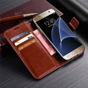 For Samsung Note 10 Plus S10 S9 A70 A50 A20 Leather Wallet Flip Stand Case Cover Ebay