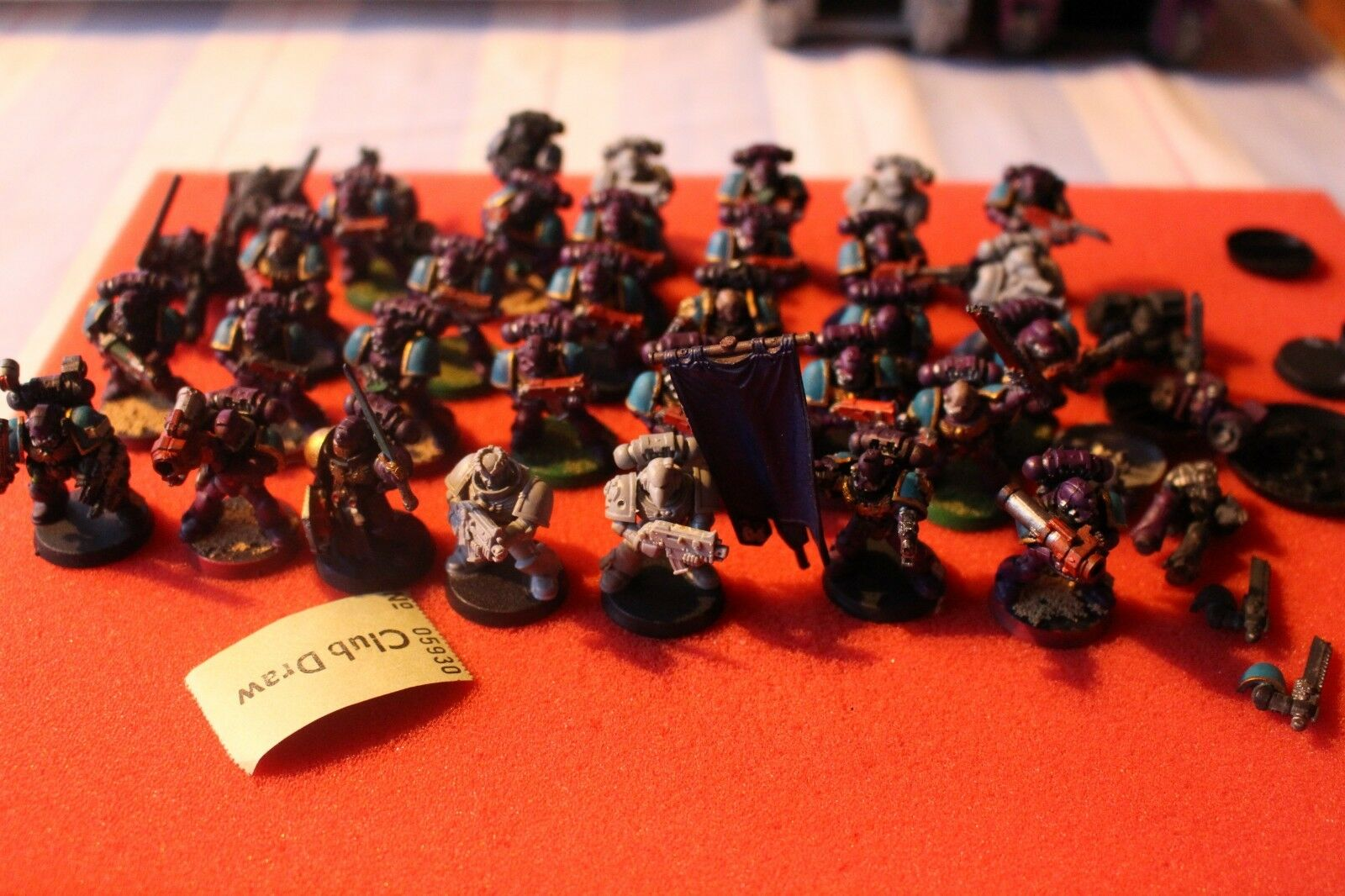 Games Workshop Warhammer 40k Space Marines Army Tactical Marines Command Army GW