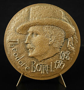 Medaglia-Theodore-Botrel-Canzoni-Breton-la-Paimpolaise-Rene-Quillivic