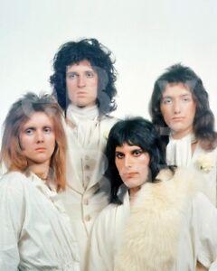 Queen-Group-Freddie-Mercury-Roger-Taylor-John-Deacon-Brian-May-10x8-Photo