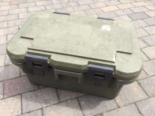 British Army Cambro UPC180 Insulated Food Container Gastronorm Transport Box