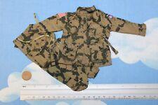 1//6 Figur WW2 US Airborne Paratrooper M1942 Combat Jacket Tunic Uniform DA318