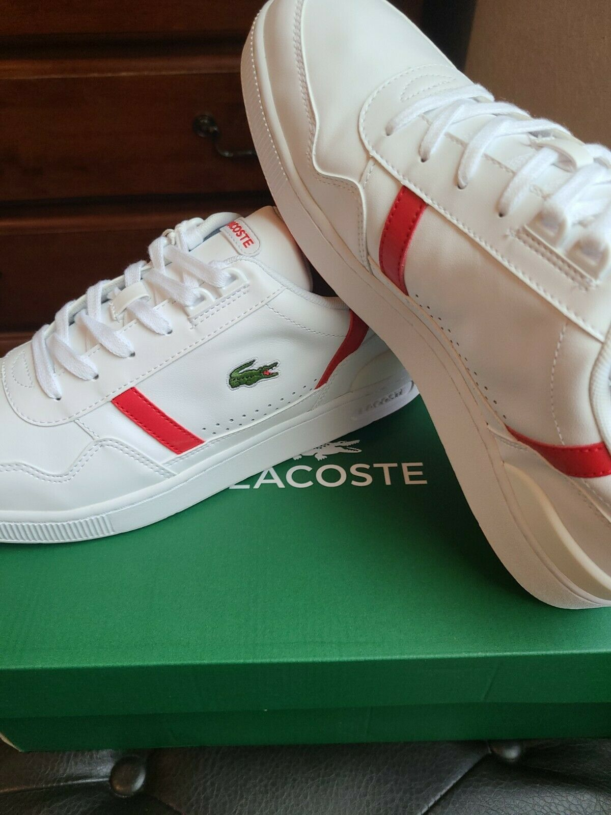 Man's Sneakers & Athletic Shoes Lacoste T-Clip 0721 2
