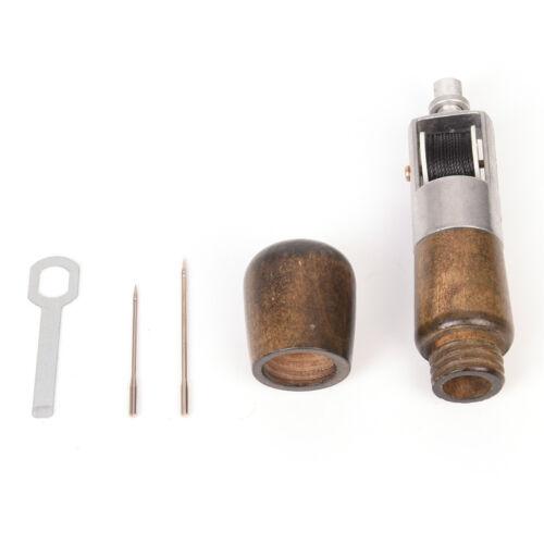 Lederhand Einzelstich Nähen Nähahle Werkzeugset Nähen mit Faden emux