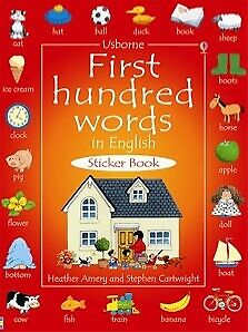 Usborne-First-Hundred-Words-in-English-Sticker-Book-for-Children-activity-book