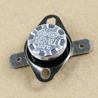 KSD301 120°C Normal Close NC Temperature Controlled Switch Thermostat 250V 10A