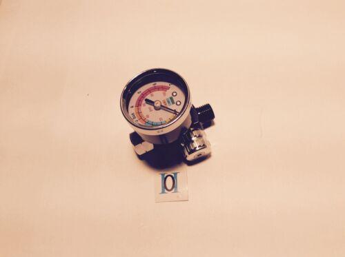 Micrometer NEU DEVILbiss NEUE LACKIERPISTOLE DEVILBISS FLG 5 1,4 Manometer,