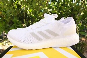 Details about ADIDAS PUREBOOST CLIMA SZ 12 CLOUD WHITE CRYSTAL GREY BOOST BY8897