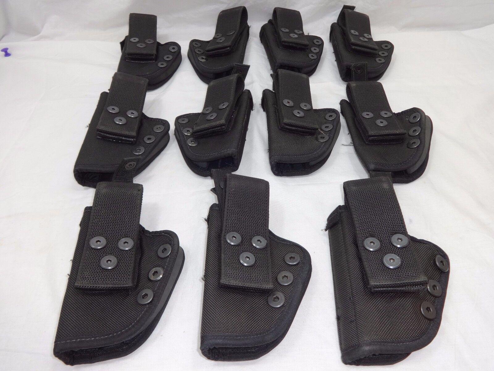 11 Negro Nylon Resistente Funda de pistola táctica militar pistola de mano