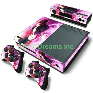 Details about K-Project Anime Red King Mikoto Suou Skin Sticker Decal  Protector for Xbox One