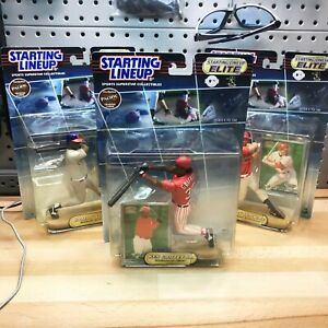 LOT OF 3 SLU Elite Starting Line Up 2000 Ken Griffey Jr Sammy Sosa Mark McGwire