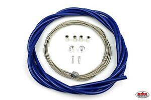 Suit Front /& Rear Chrome ProMX 5mm Lined BMX Brake Cable Set