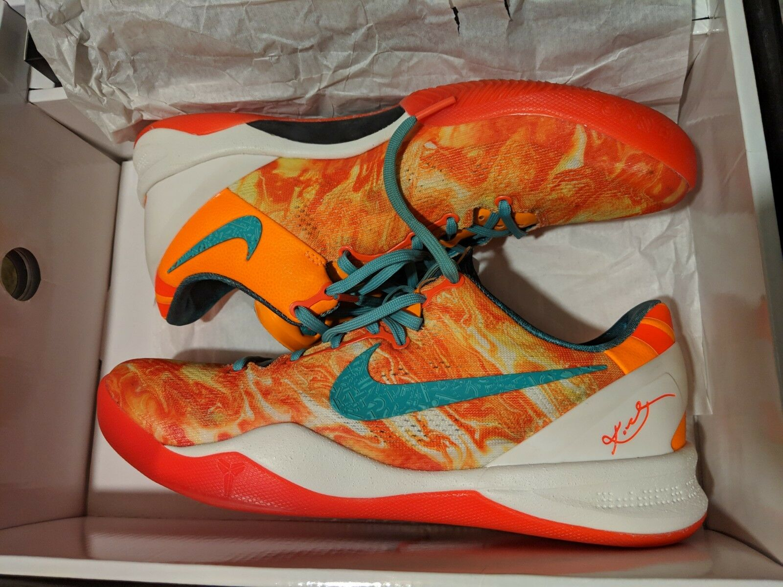 USED Nike Zoom Kobe 8 System+ SP PK PK PK AS With Nike+ AREA 72 583110 800 SIZE 10  48d3b5