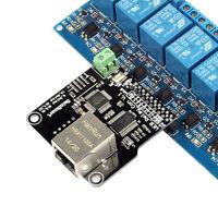 SainSmart Ethernet Control Module LAN WAN WEB Server RJ45 Port For 8 Chs Relay