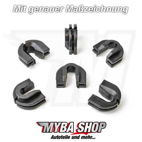 30x rejilla borna f rejilla de radiador VW Transporter Caravelle t4 90-03 701805163 nuevo