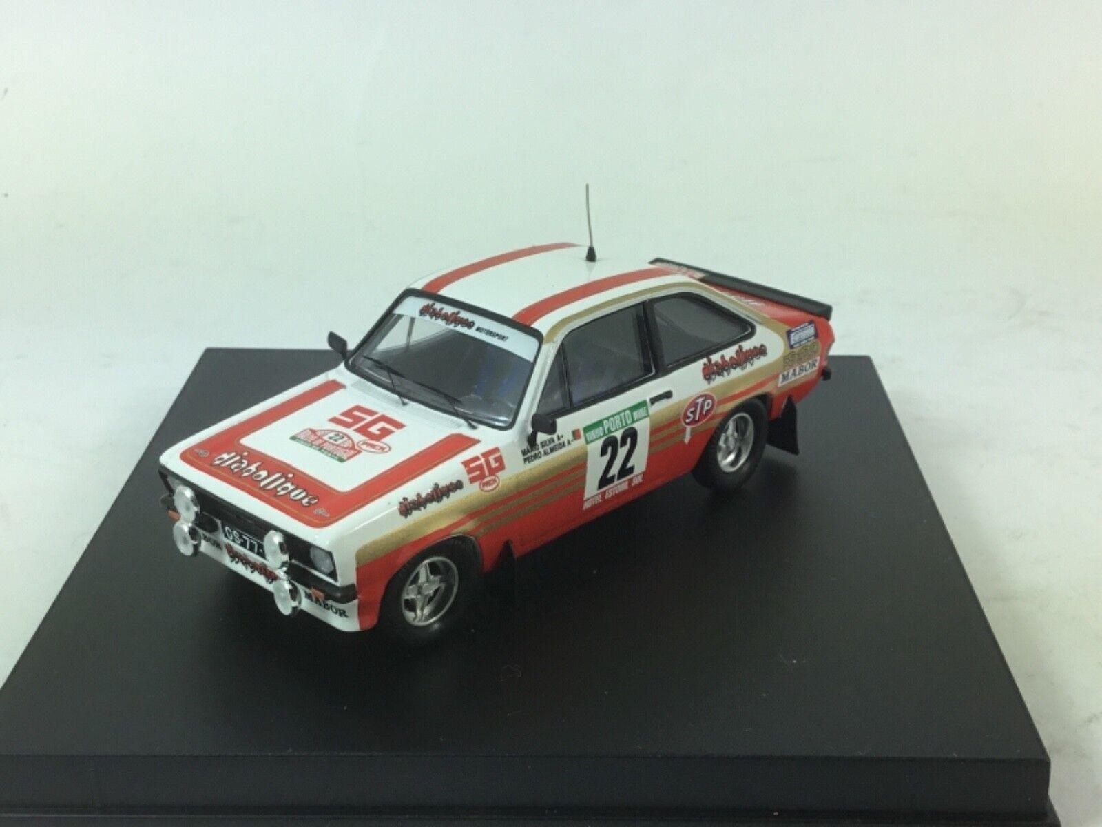 bienvenido a elegir Trofeu 1020 Ford Escort MK MK MK II RALLY PORTUGAL 1981-M Silva escala 1 43  mas preferencial