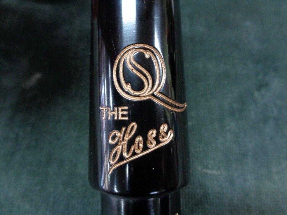 Saxquest 'la boquilla de saxofón saxofón saxofón tenor Hoss's 6  (.095 ) de goma dura bd2d86
