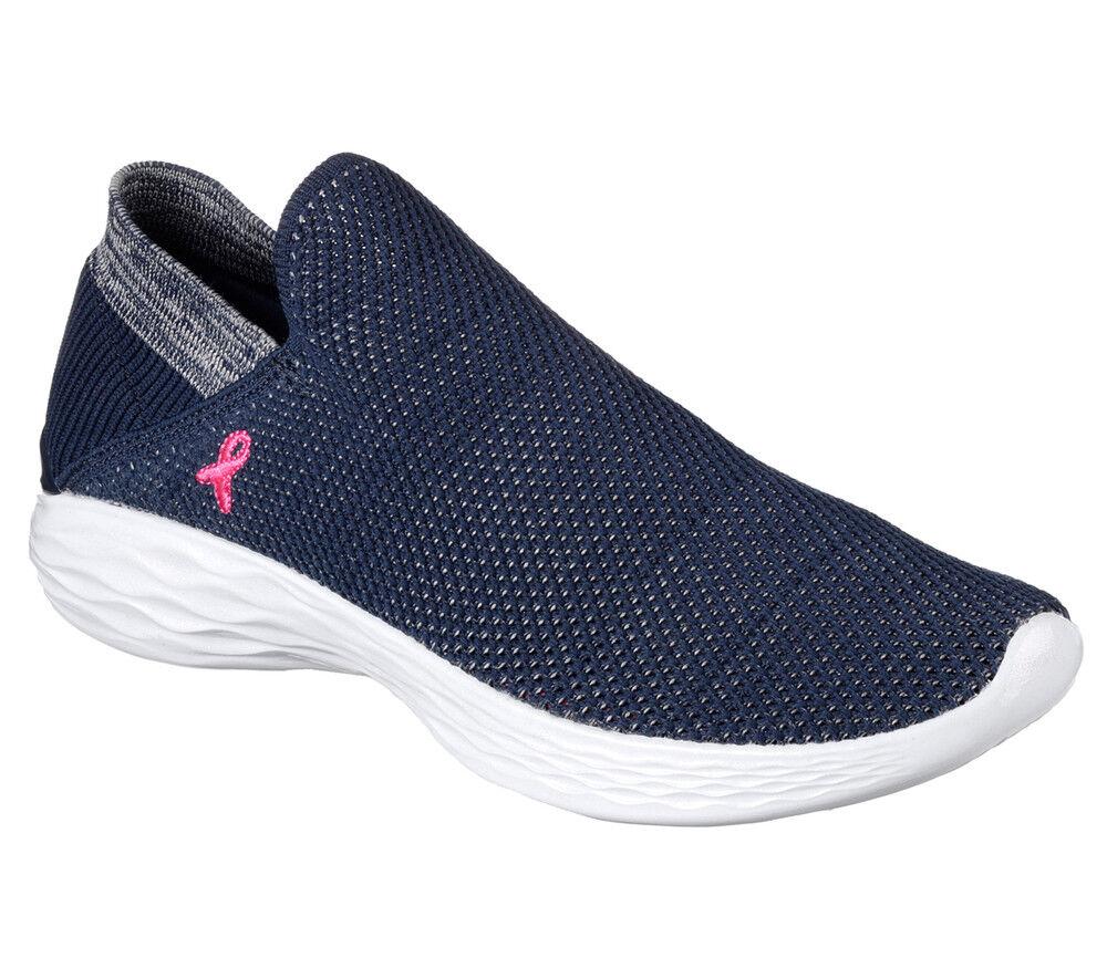 Nuevo señora Skechers sneakers zapatillas slip on Walking You-bca-2017 azul