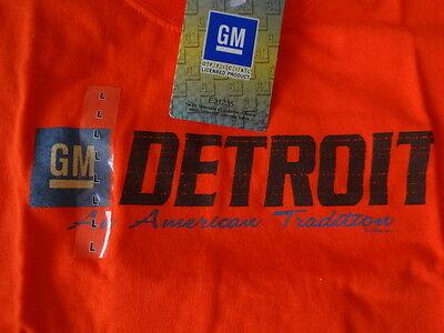 MüHsam Gm Detroit American Tradition T-shirt Gr. L Orange Neu