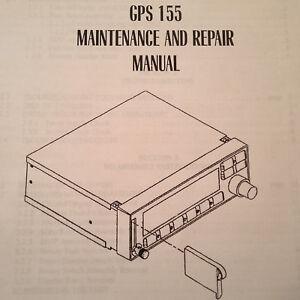 garmin gps 155 maintenance repair manual ebay rh ebay com Tractor Service Manuals 02 Mazda Protege5 Repair Manuals