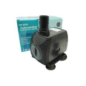 Modest Pompe Submersible Duke Pumps Dp-5000 5000l/h 98 Watts Reliable Performance Fish & Aquariums