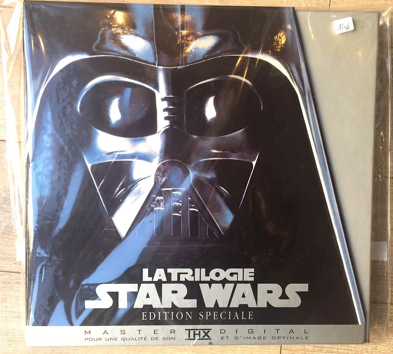 BOXSET LASER DISC STAR WARS LIMITED EDITION FULL   COMPLETE TTBE NEAR NEW