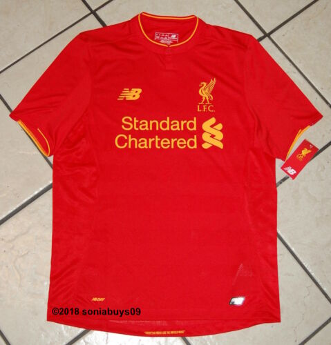 New M Gerrard Rot Mt630001 Liverpool Balance Herren Heimtrikot Größe qqrFvzg1