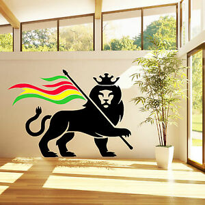 Image Is Loading RASTA LION RASTAFARI OF JUDAH BOB MARLEY