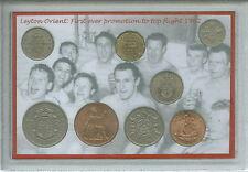 Leyton Orient (Leytonstone Clapton) Promoción Retro Vintage Regalo de Moneda Set 1962