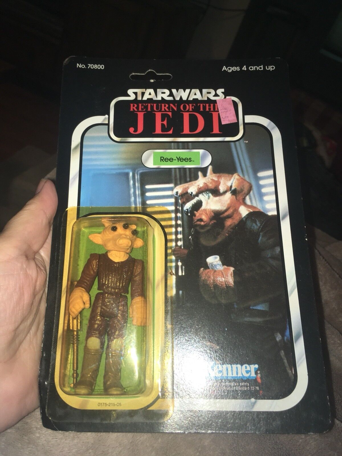 1983 Star Wars Return of the Jedi Ree-Yees by Kenner