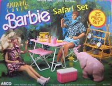 Animal Lovin' Barbie Safari Set + Animal Lovin' Barbie and Nikki dolls