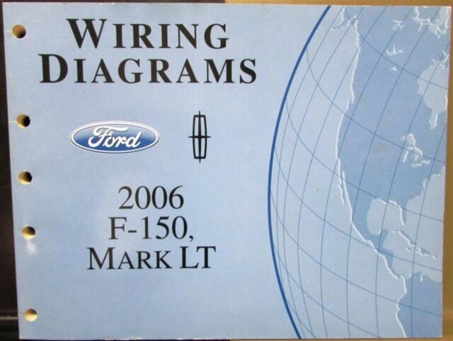 2006 Ford Dealer Electrical Wiring Diagram Service Manual