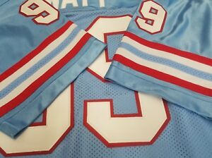 new product b675a 26458 00 Houston Oilers Football Jersey Your Name sewn ON.3XL,4X ...