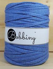"""Bobbiny  """"Stoffgarn Jeans Blau meliert Ton"""" Neu, Baumwolle wie Hooked 817"""